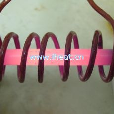 Induction Stress Relief On Turbine Blade Induction Heating